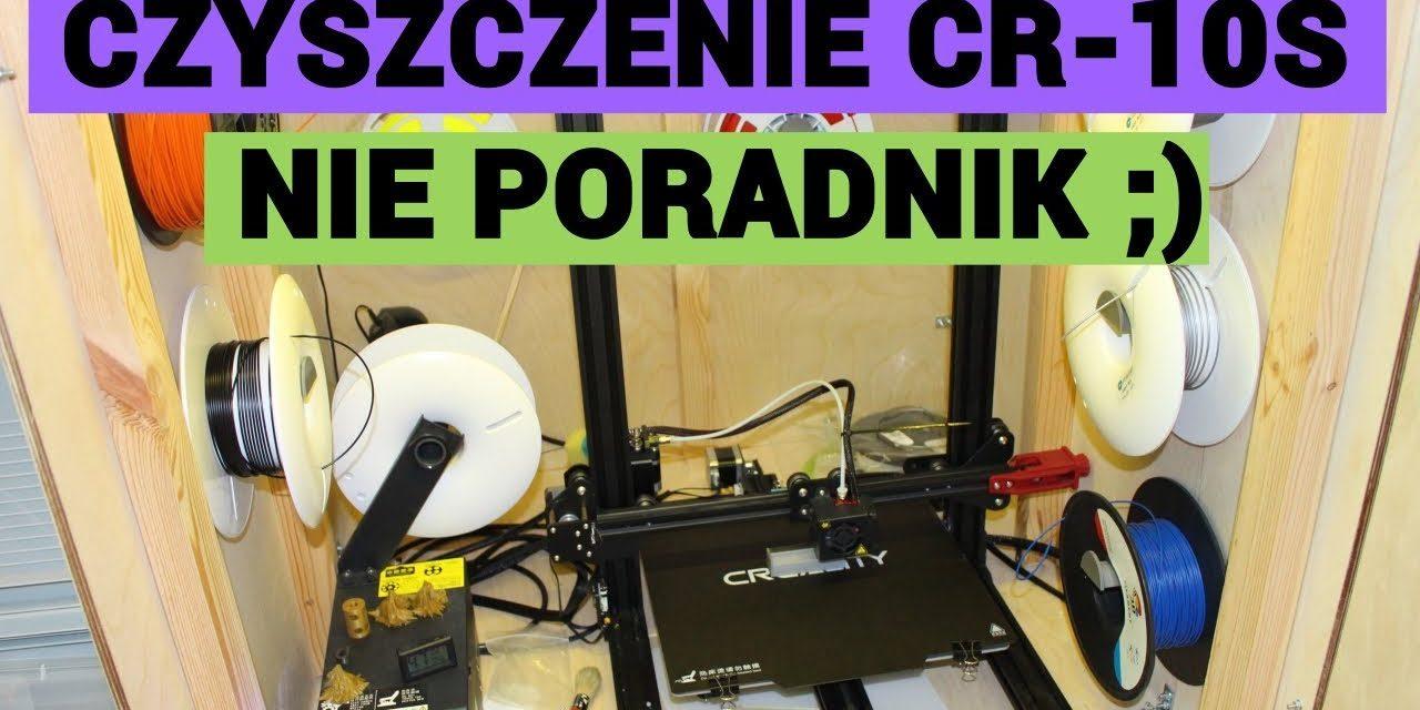 Czyszczenie zapchanej dyszy w Creality CR-10S – PRAWIE PORADNIK