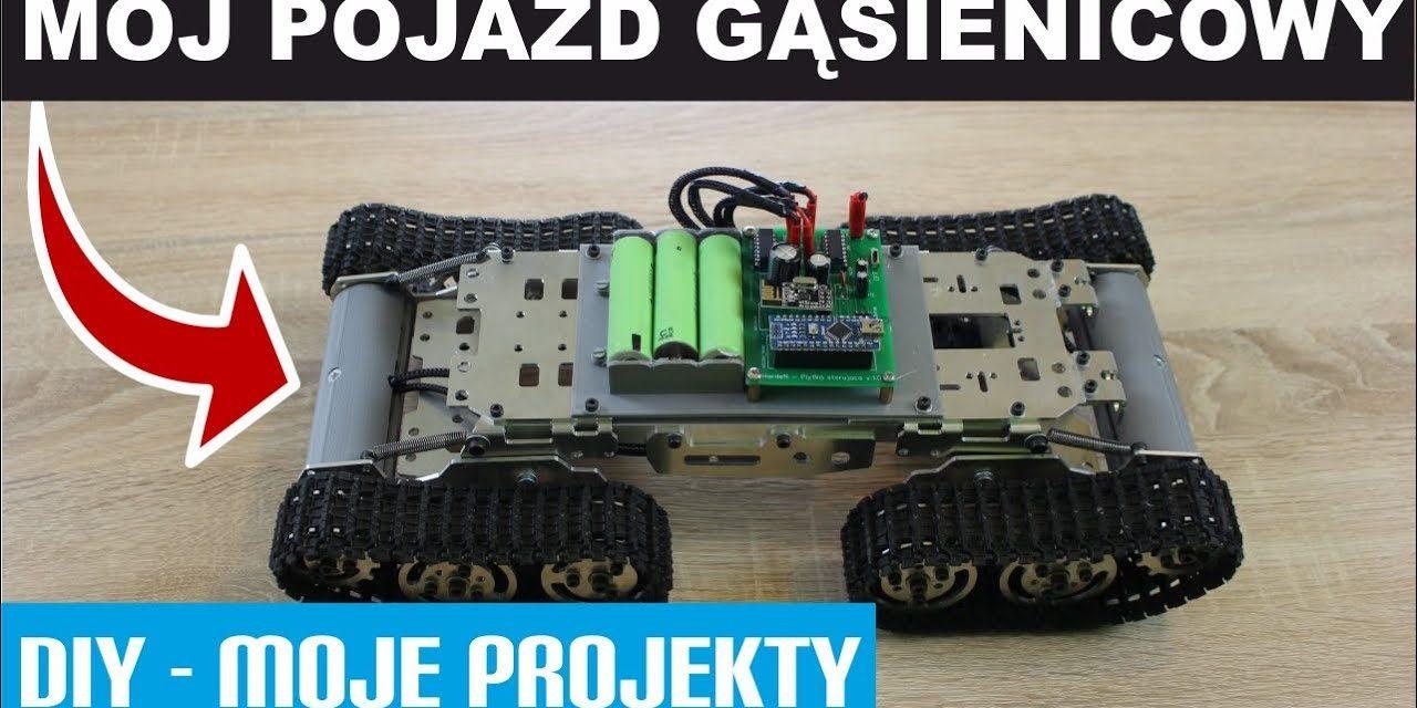 DIY – Pojazd Gąsienicowy – Prezentacja
