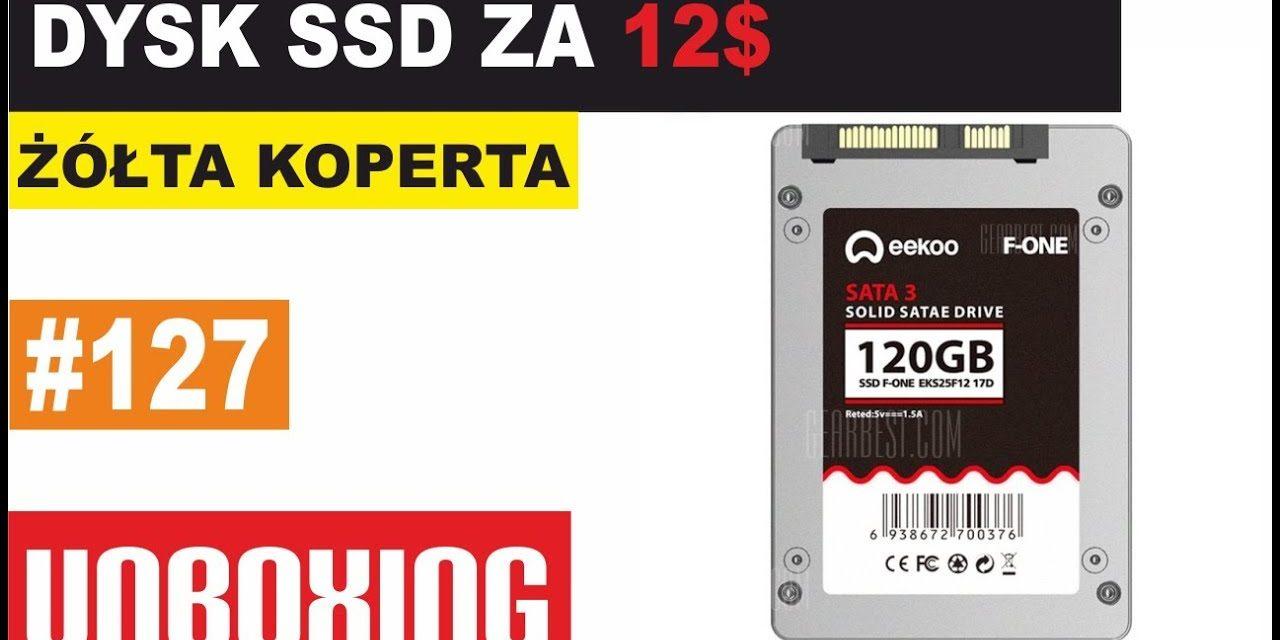 Dysk SSD za 12$ – ŻÓŁTA KOPERTA #127