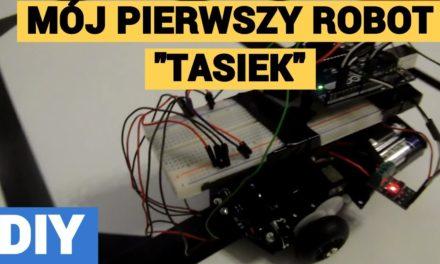 """Mój pierwszy robot z 2014 roku – """"TASIEK"""" [REUPLOAD]"""