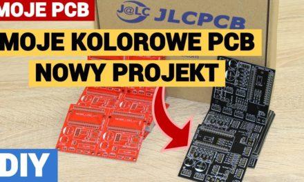 Nowy projekt PCB za 2$ – Sterownik silników DC – [ JLCPCB.COM $2 for 5 PCBs ]