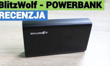 Powerbank BlitzWolf BW-PF2 10000mAh – Recenzja :