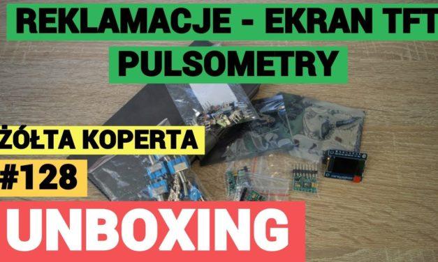 Reklamacje, ekran TFT, pulsometr do Arduino – ŻÓŁTA KOPERTA #128