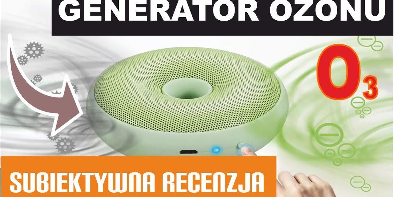 TANI oczyszczacz powietrza – Generator OZONU – Excelvan CZ – CW01