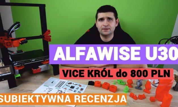 Vice Król tanich drukarek 3D – Alfawise U30 – recenzja