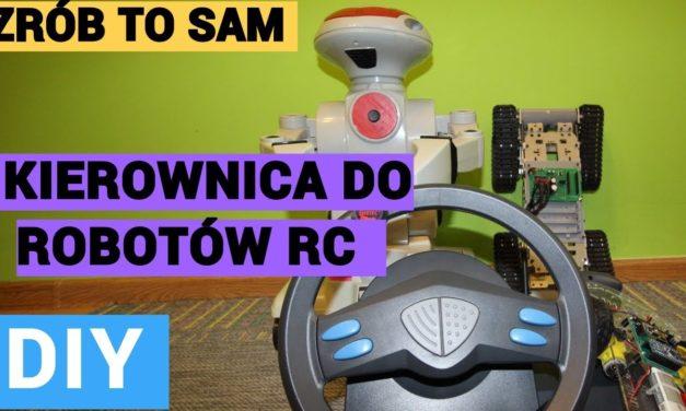ZRÓB TO SAM – Kierownica do robotów RC – PREZENTACJA PO LIVE