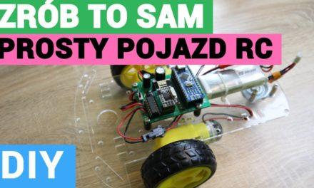 ZRÓB TO SAM prosty pojazd zdalnie sterowany – RC – Arduino