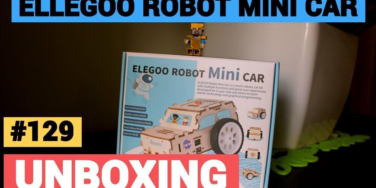 ELEGOO 🆁🅾🅱🅾🆃 – Zestaw DIY do nauki programowania – MINI CAR
