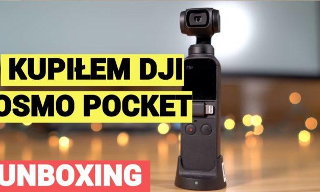 Kupiłem do vlogów DJI Osmo Poket – UNBOXING