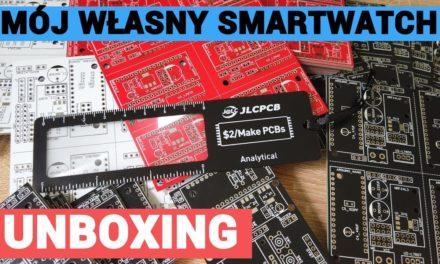 Mój projekt SMARTWATCHA – Nowe PCB – [ JLCPCB.COM $2 for 5 PCBs ]