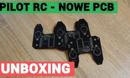 Przesyłka z nowym pilotem RC – PCB od PCBWAY