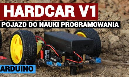 HARDCAR – robot edukacyjny do nauki programowania [DIY]