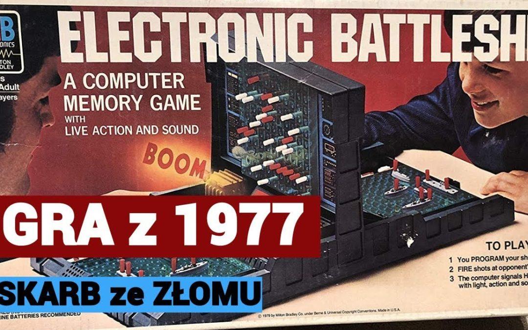 Elektroniczna gra w statki z 1977 – Electronic Battleship – #SKARBzeZŁOMU