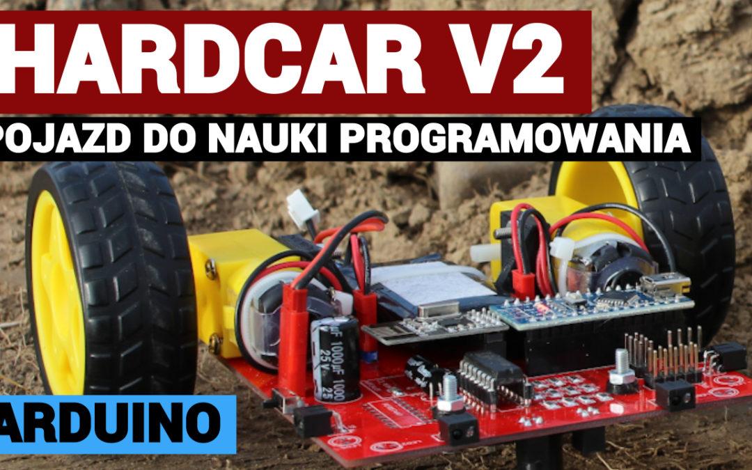 HARDCAR v2 – robot edukacyjny do nauki programowania