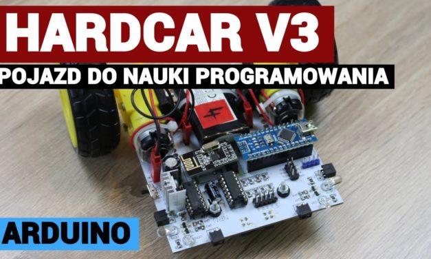 HARDCAR V3 – ROBOT EDUKACYJNY DO NAUKI PROGRAMOWANIA