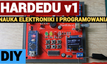 HardEdu v1 – zestaw do nauki elektroniki i programowania